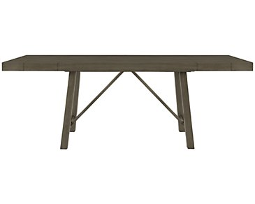 Omaha Gray High Dining Table