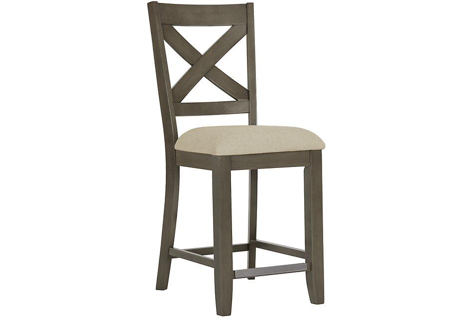 Outstanding Omaha Gray 24 Wood Barstool Forskolin Free Trial Chair Design Images Forskolin Free Trialorg