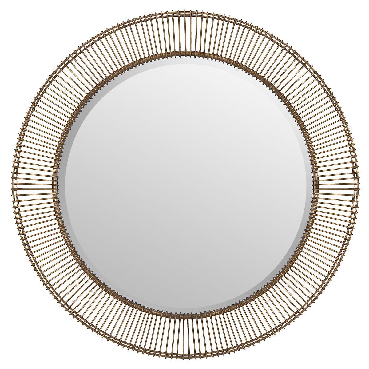 Bricius Gold Mirror