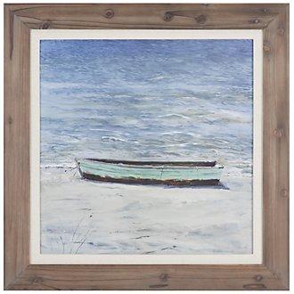 Boat Framed Wall Art