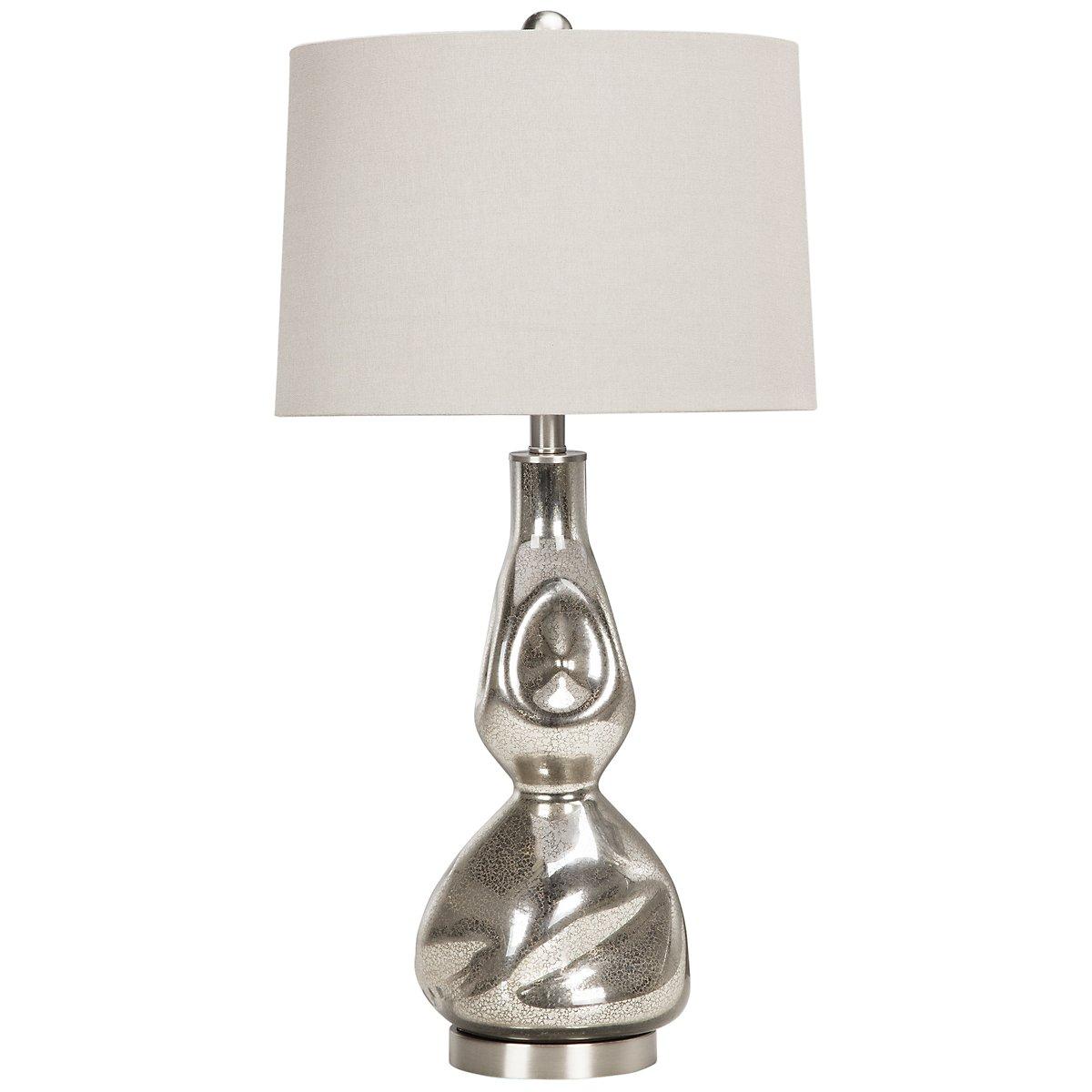 Dovera Silver Table Lamp