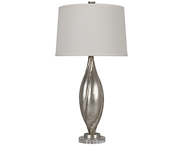 Palouse Silver Table Lamp