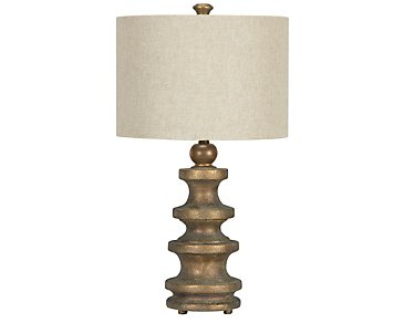 Isabel Gold Table Lamp