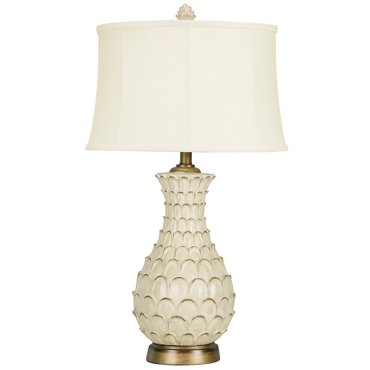 Largo Light Beige Table Lamp