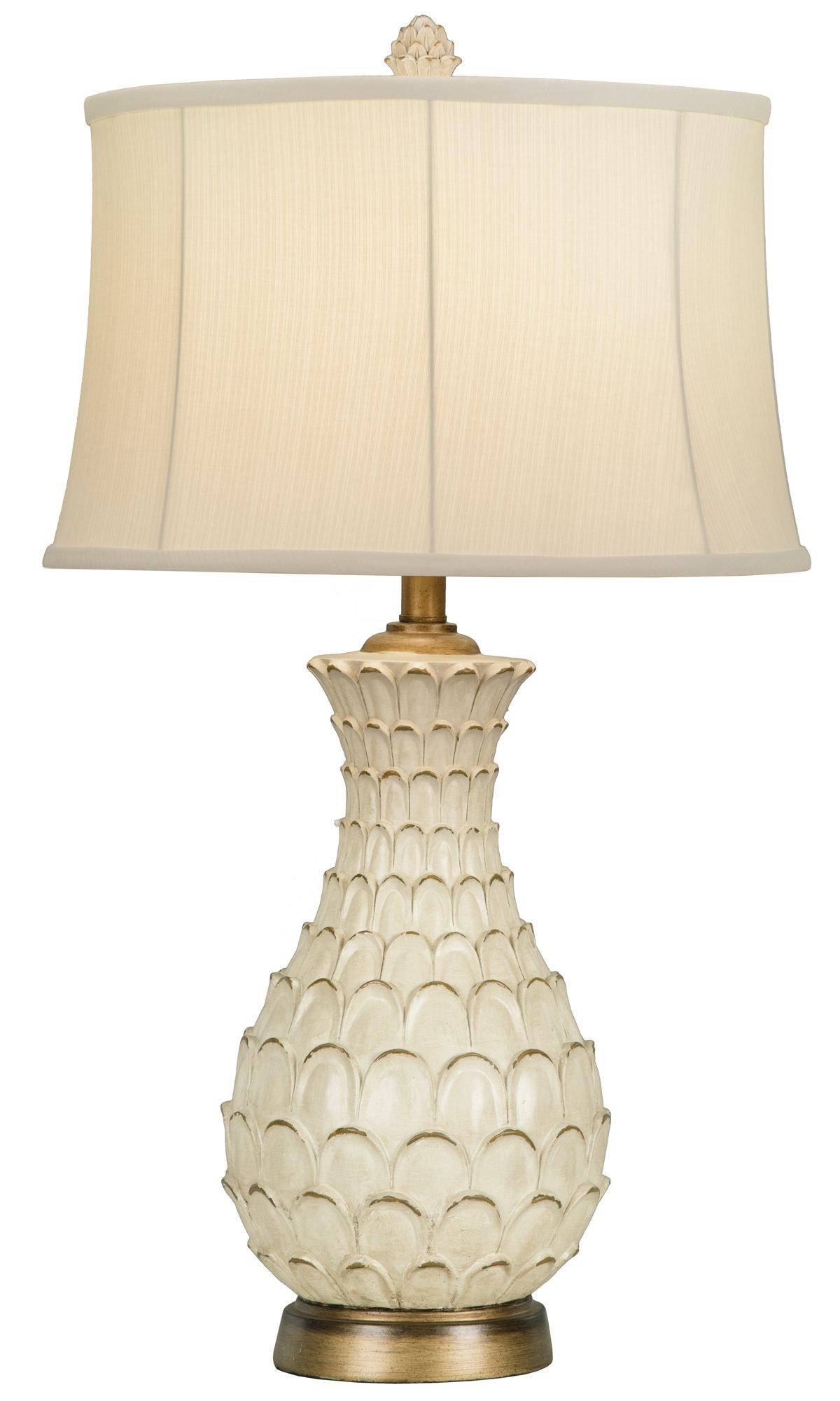 Largo Light Beige Table Lamp