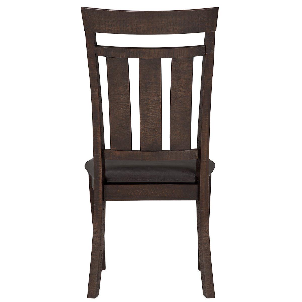 City Furniture Kona Grove Dark Tone Wood Side Chair