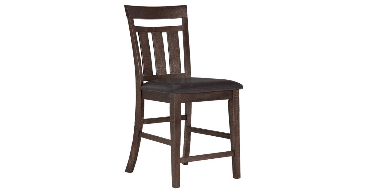City Furniture Kona Grove Dark Tone 24 Wood Barstool