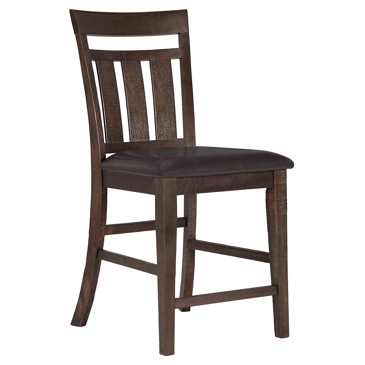 "Kona Grove Dark Tone Wood 24"" Wood Barstool"