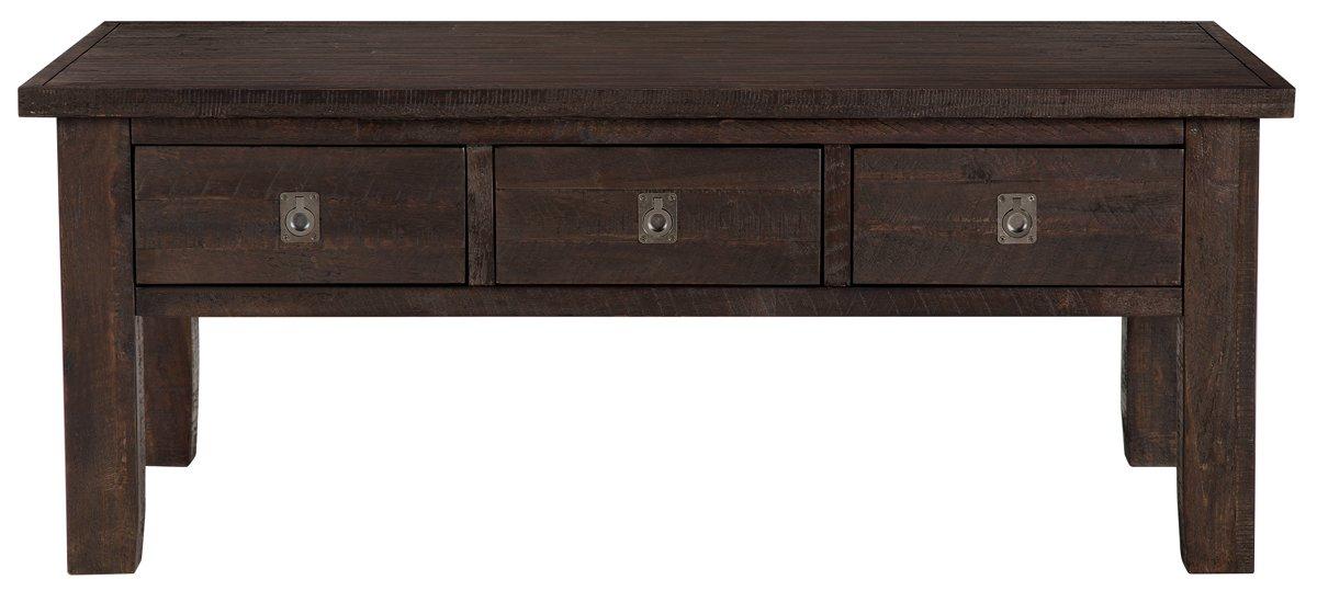 Kona Grove Dark Tone Storage Rectangular Coffee Table