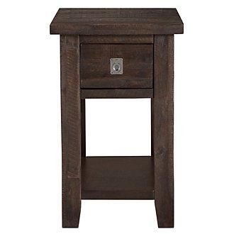 Kona Grove Dark Tone Chairside Table