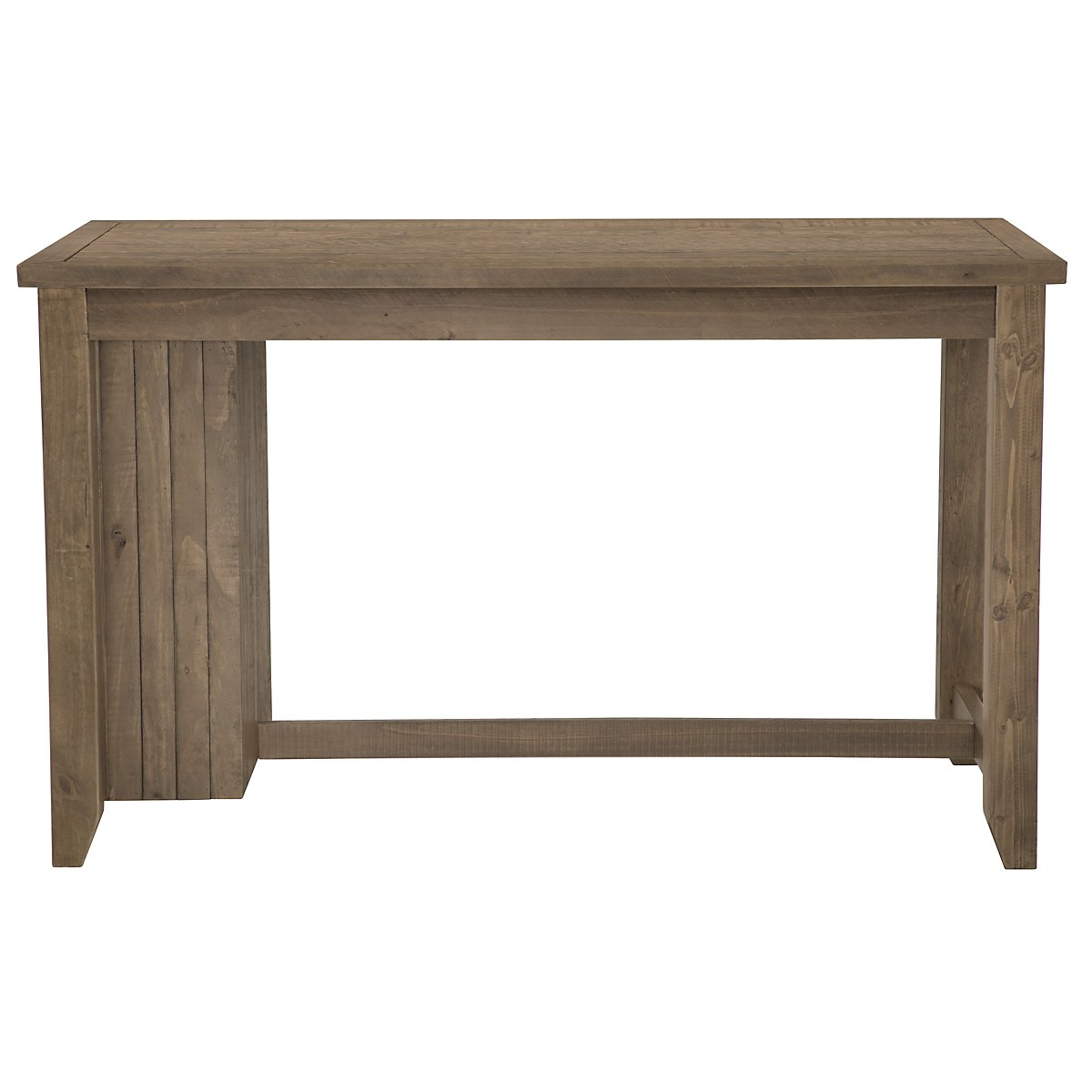Jaden Light Tone Wood High Dining Table