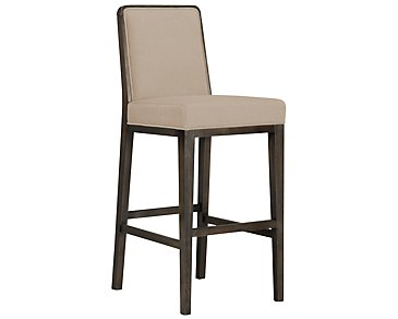 "Alisa Light Taupe Fabric 30"" Barstool"