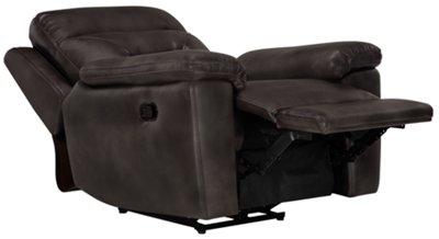 Phoenix Dark Gray Microfiber Recliner  sc 1 st  City Furniture & City Furniture: Phoenix Dk Gray Microfiber Recliner islam-shia.org