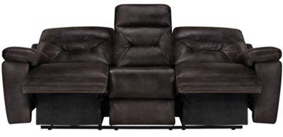 Delicieux Phoenix Dark Gray Microfiber Power Reclining Sofa. Phoenix Dark Gray  Microfiber Power Reclining Sofa
