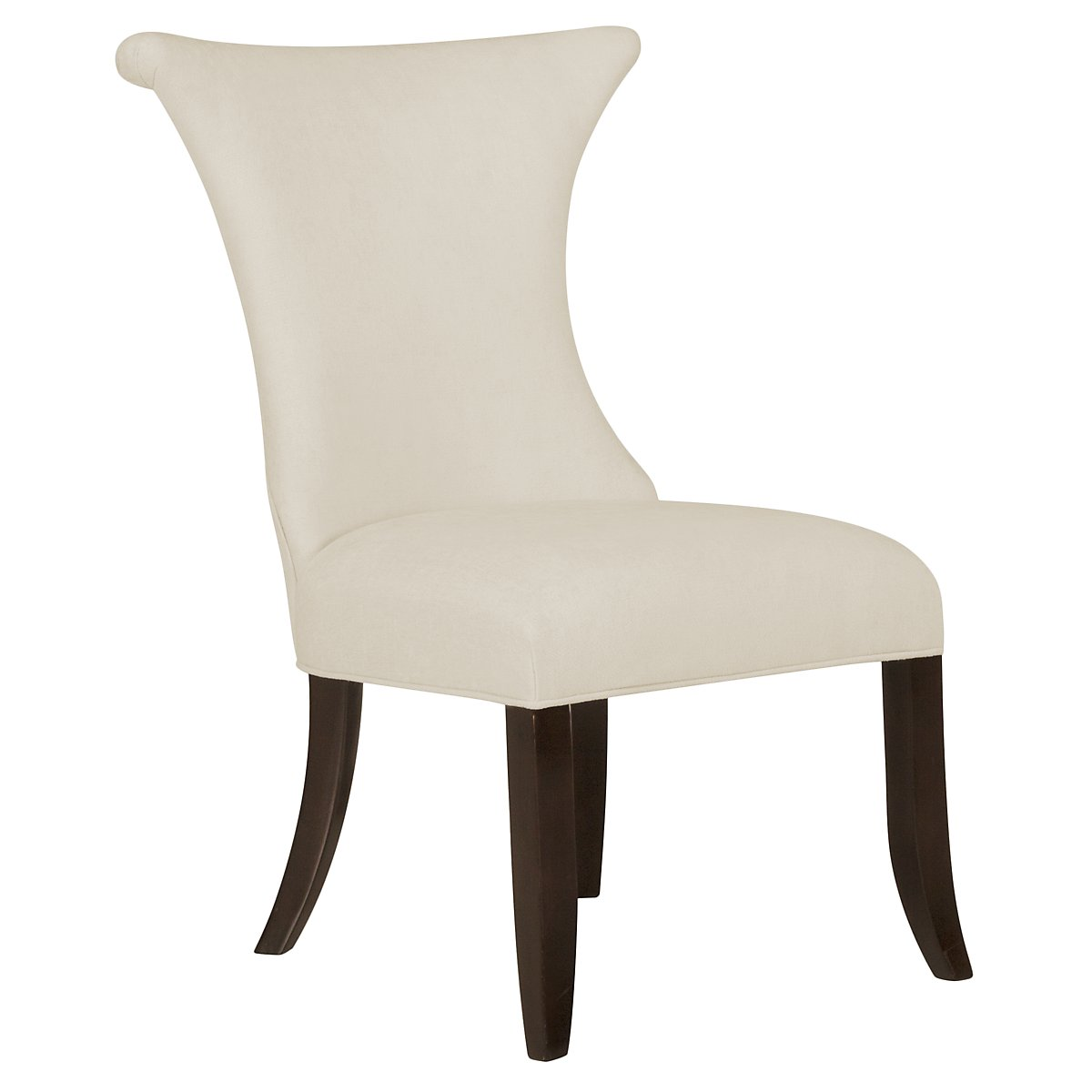 Jet Set2 Beige Upholstered Side Chair