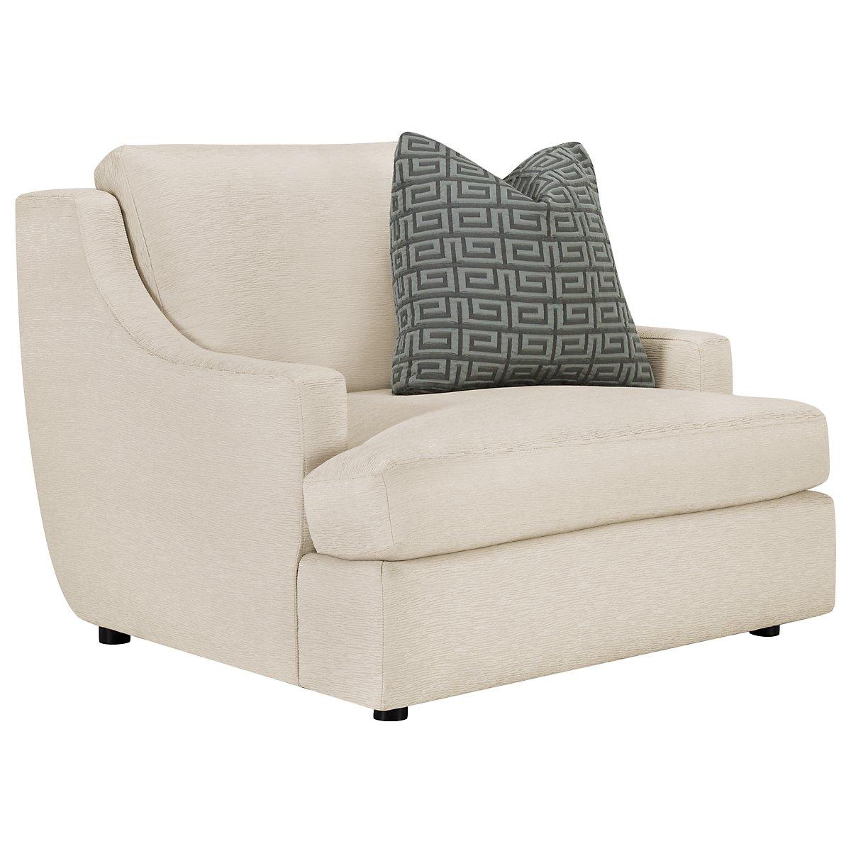 Josh Light Beige Fabric Chair