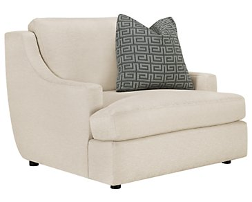 Josh Light Beige Fabric Chair