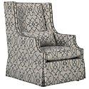 Darbin Multicolored Fabric Accent Chair