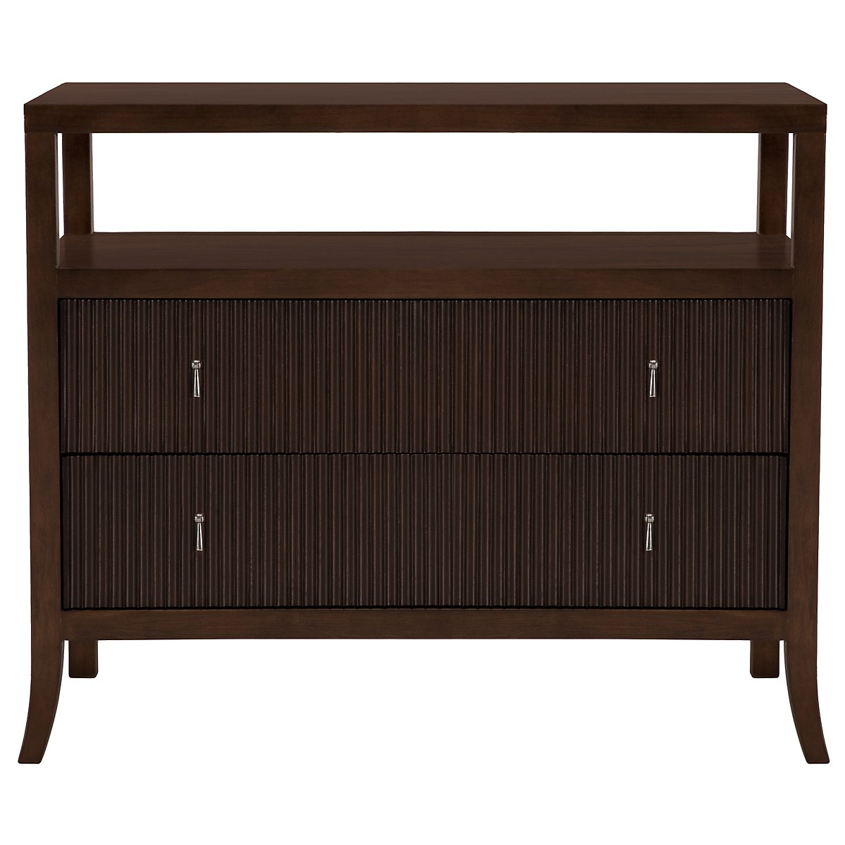 Haven Mid Tone Open Nightstand