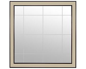 Haven Two-Tone Floor Mirror