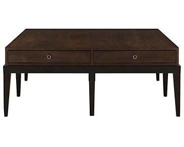 Haven Mid Tone Storage Square Coffee Table