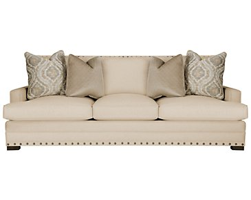 Cantor Beige Fabric Sofa