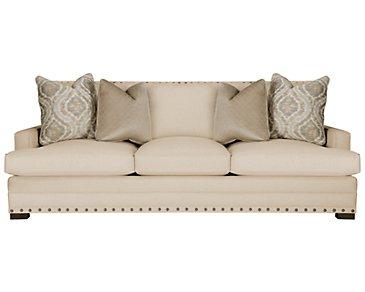 Cantor Beige Fabric Sofa