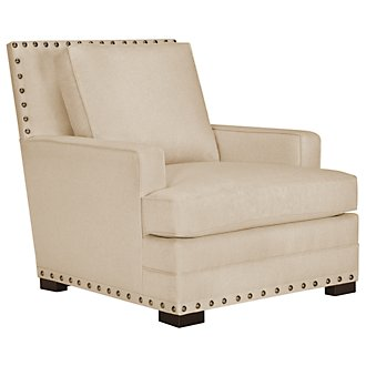 Cantor Beige Fabric Chair
