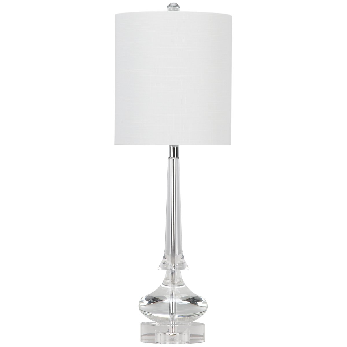 Rivoli Clear Table Lamp