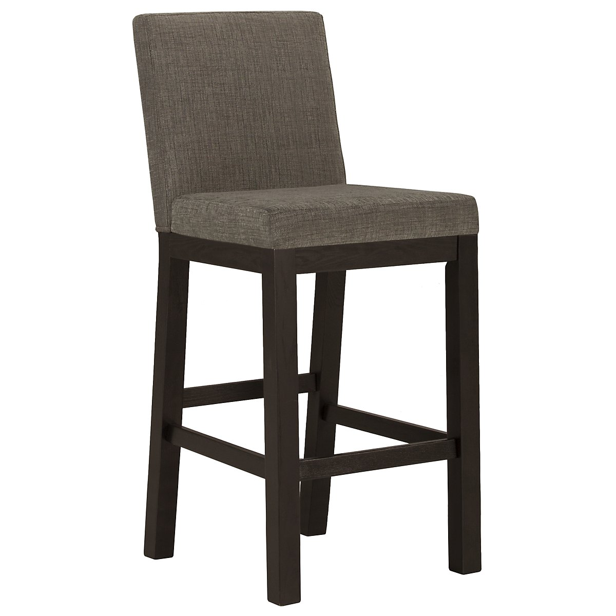 "Tocara Dark Tone 30"" Upholstered Barstool"