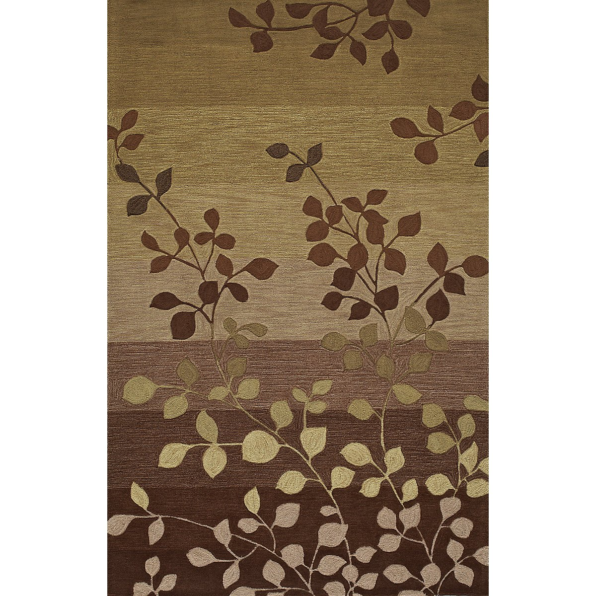 Ivy Green 5X8 Area Rug