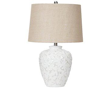 Ellis White Table Lamp