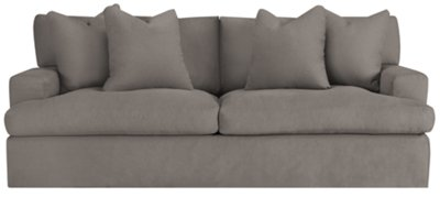Delilah Gray Fabric Sofa
