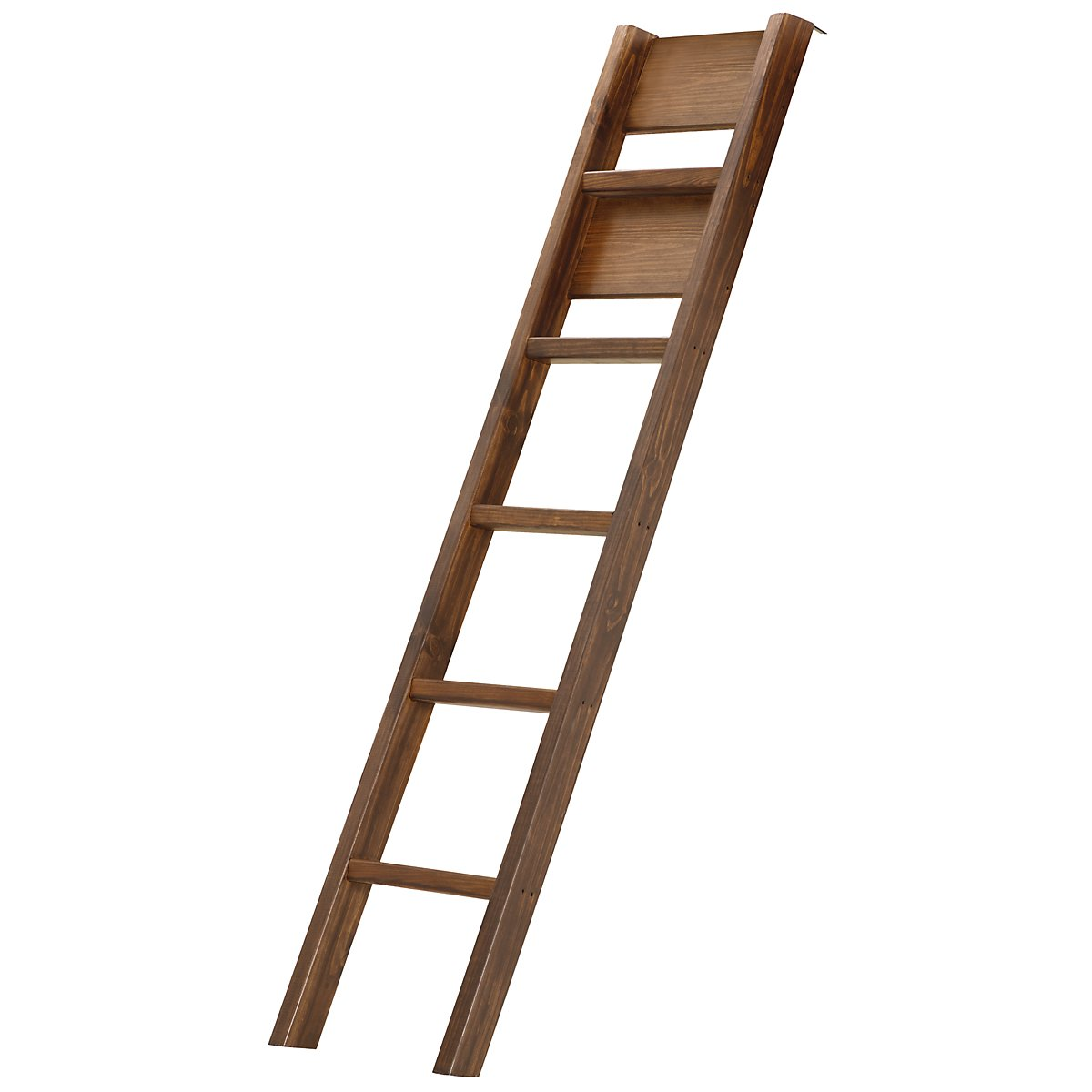 Laguna Dark Tone Wood Bunk Ladder