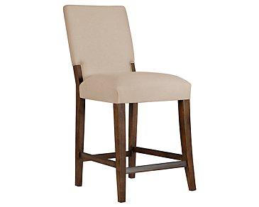 "Savoy Mid Tone 24"" Upholstered Barstool"