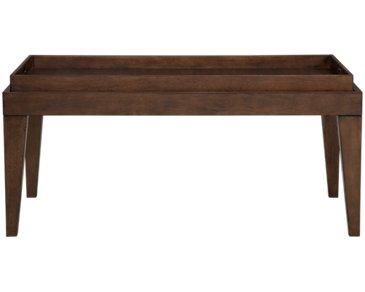 Savoy Mid Tone Tray Coffee Table