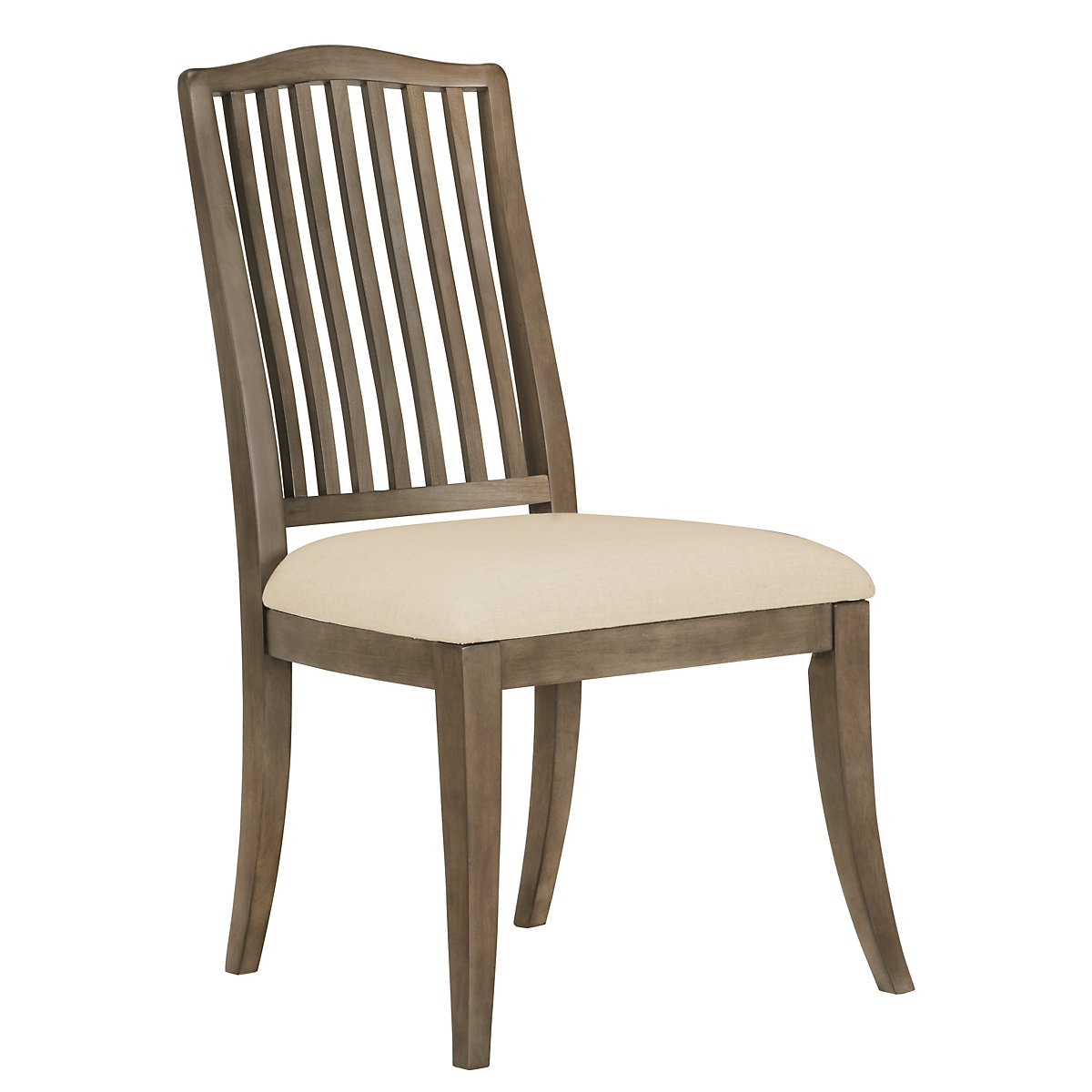 Preston Gray Wood Side Chair