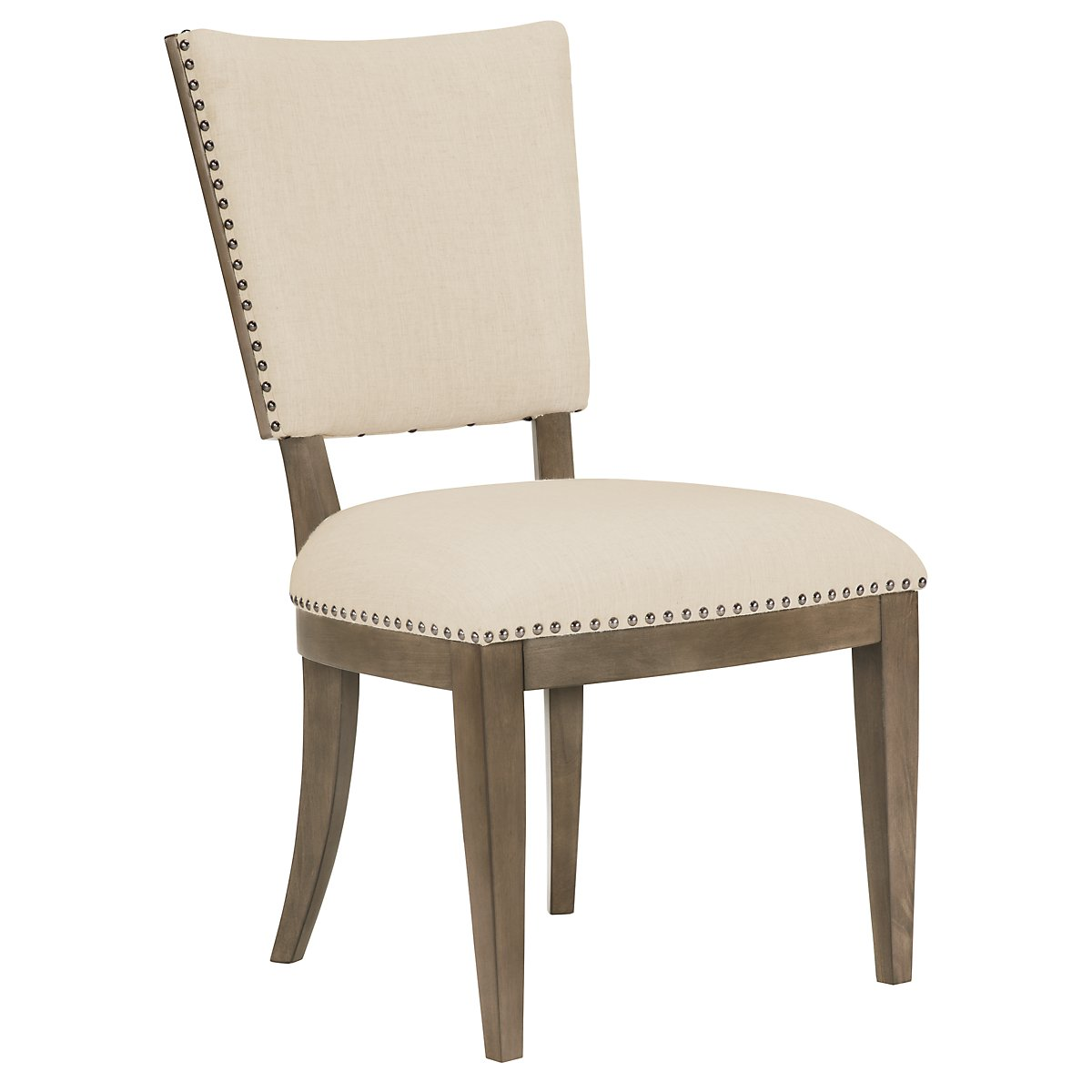 Preston Gray Upholstered Side Chair