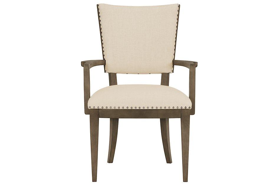 Preston GRAY  Upholstered Arm Chair