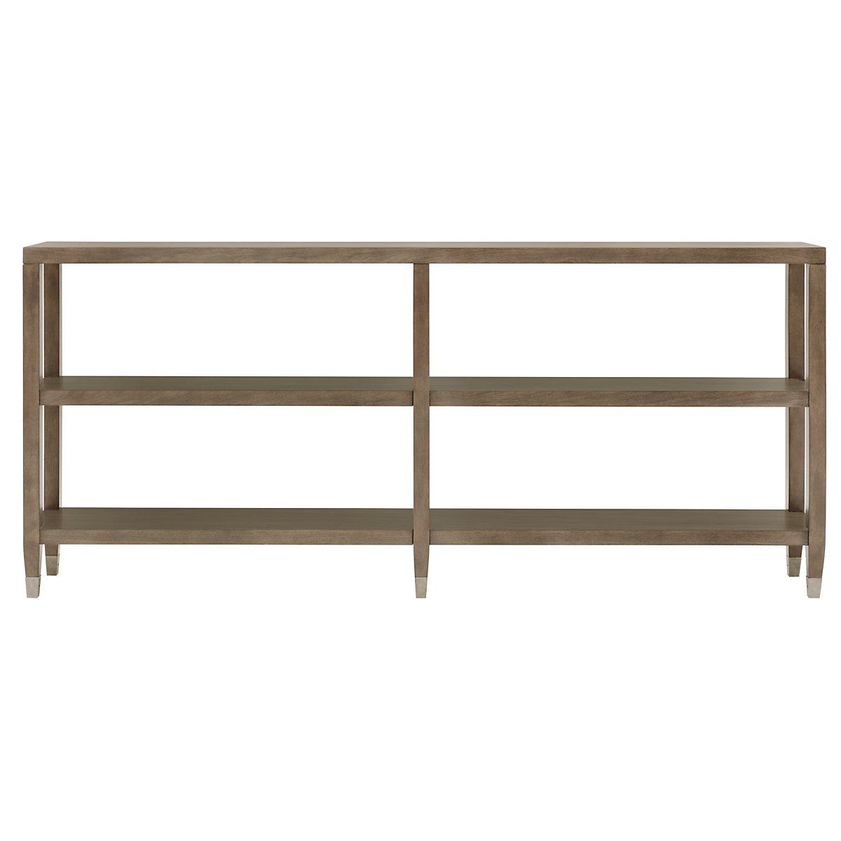 Preston Gray Sofa Table