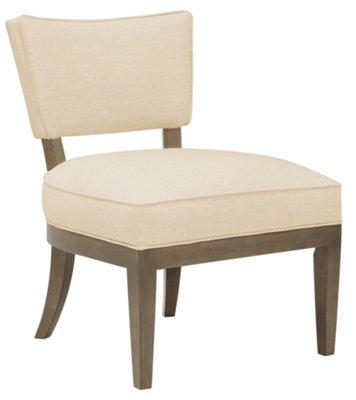 preston gray accent chair
