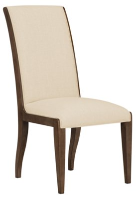 Preston Mid Tone Sloped Upholstered Side Chair