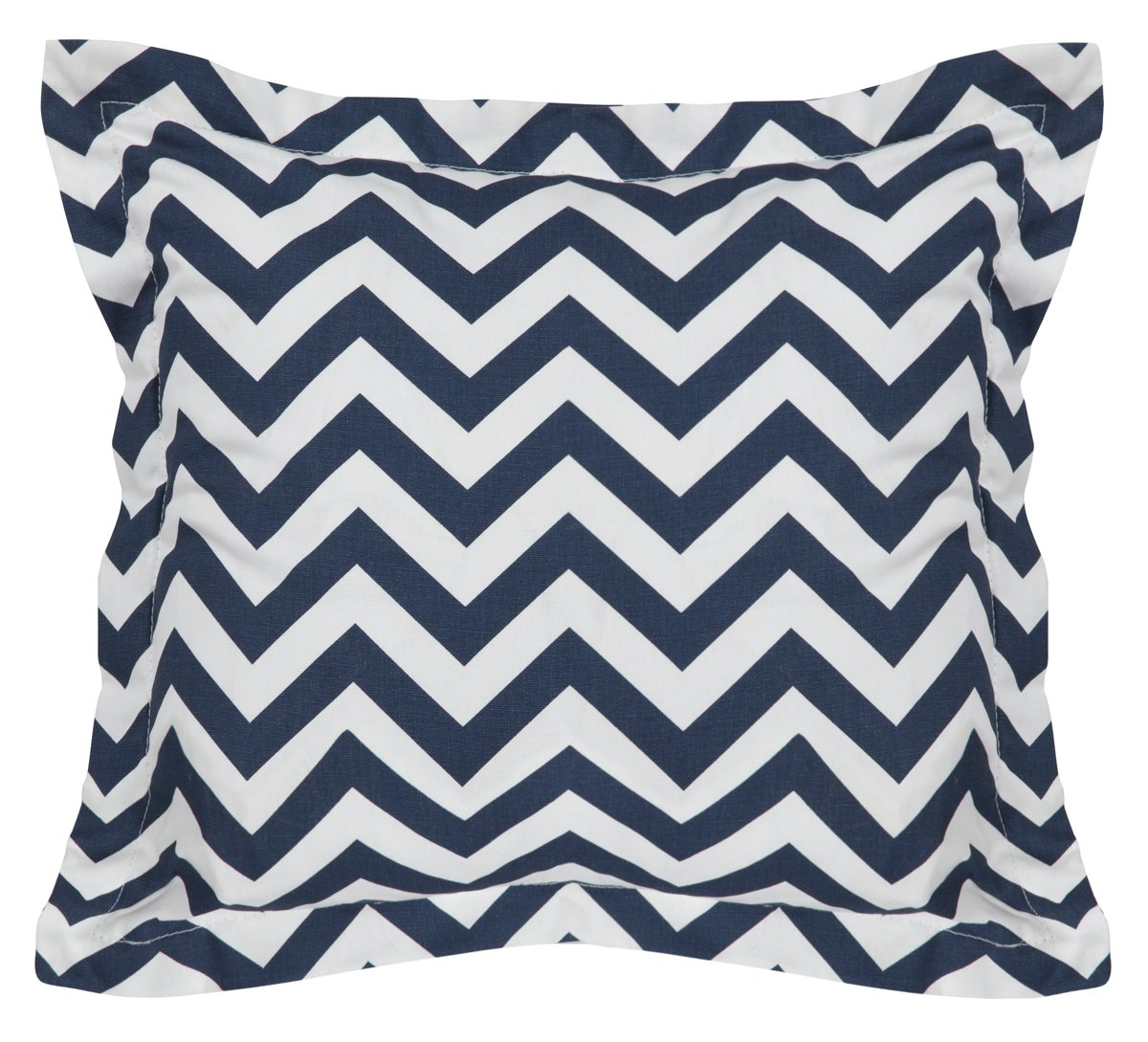Star Dark Blue Down Square Accent Pillow