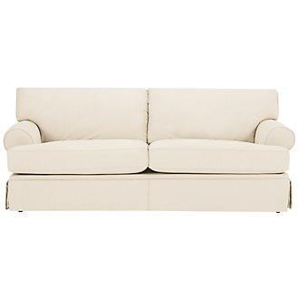 Kylie Beige Cotton Sofa