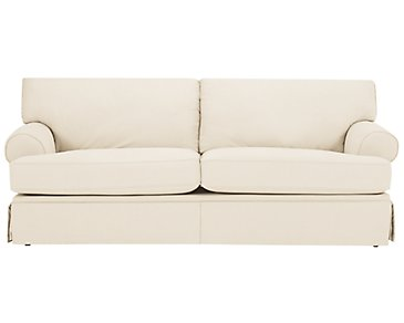 Kylie Beige Cotton Sofa