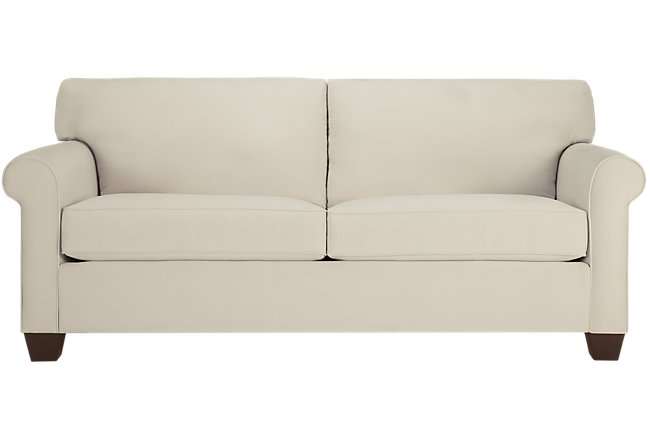 Corlis Light Beige Fabric Sofa