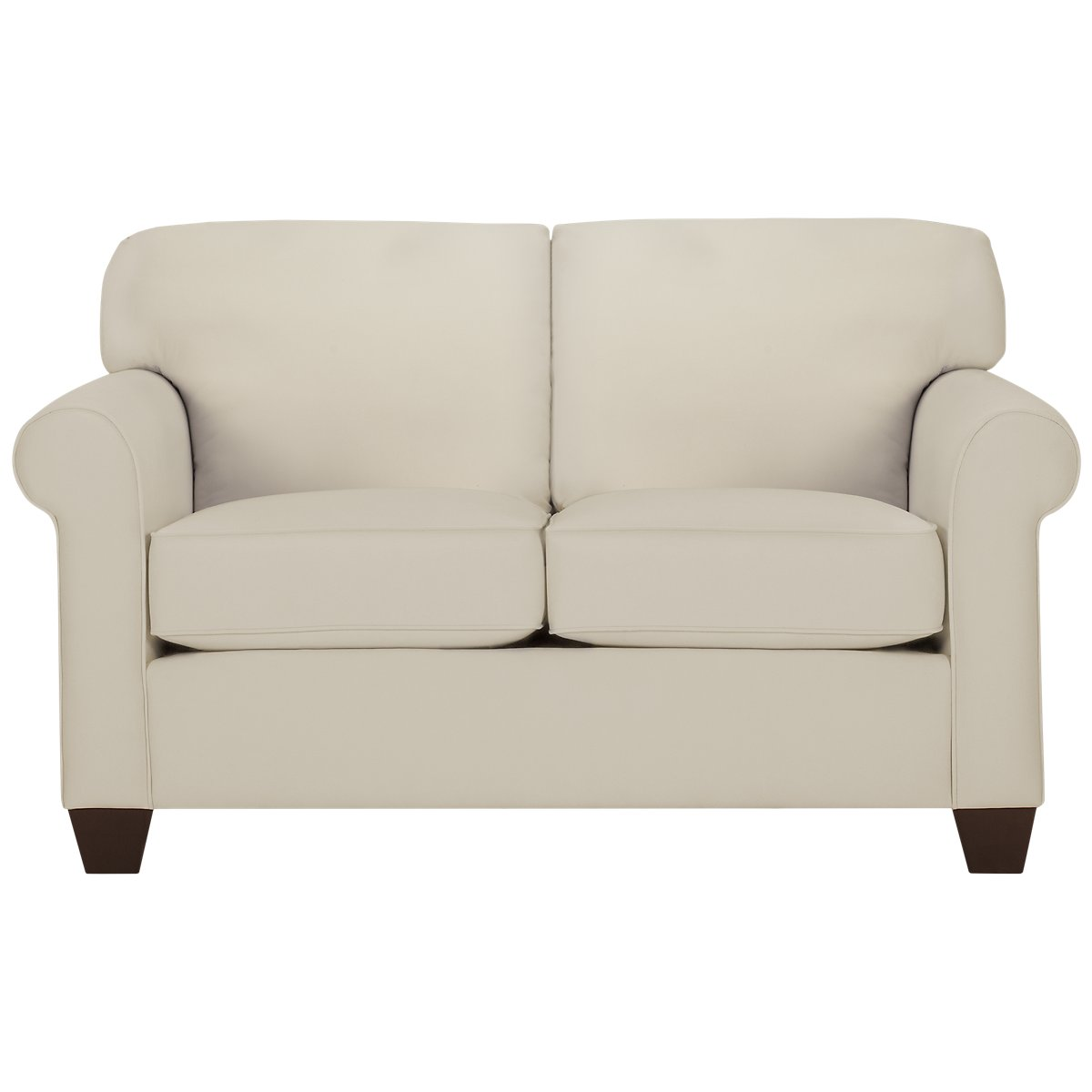 Corlis Light Beige Fabric Loveseat