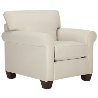 Corlis Light Beige Fabric Chair