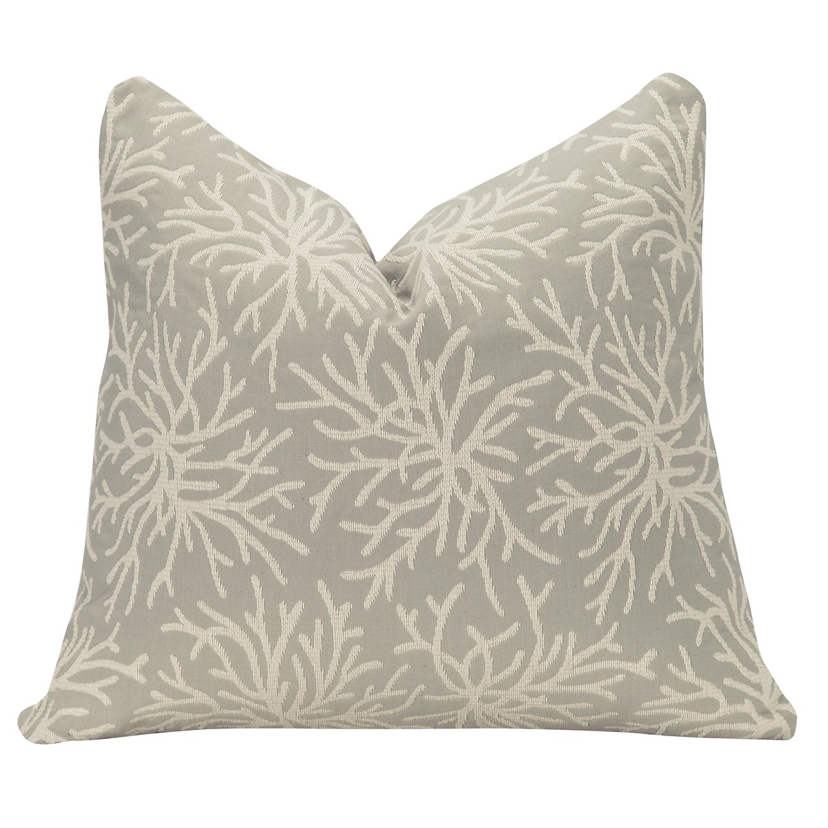 Corlis Multicolored Fabric Square Accent Pillow