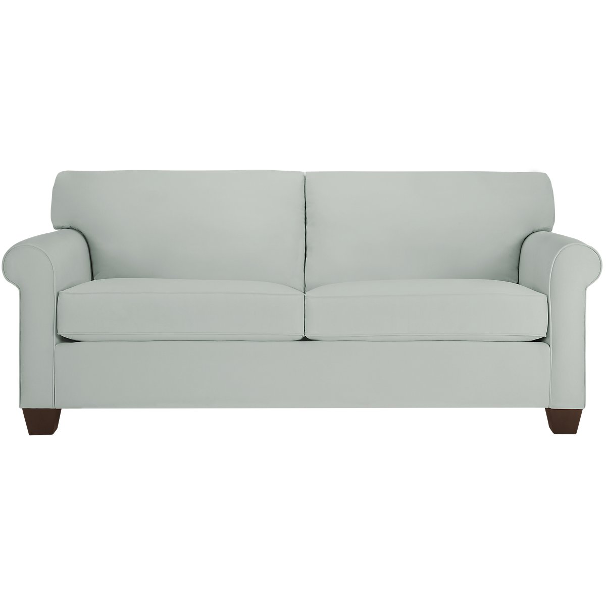 Corlis Light Blue Fabric Sofa